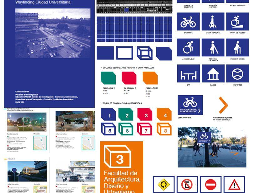 Diseño Wayfinding en Ciudad Universitaria