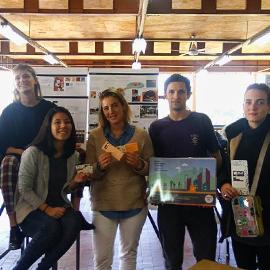 Alumnos de Diseño del Hábitat Accesible