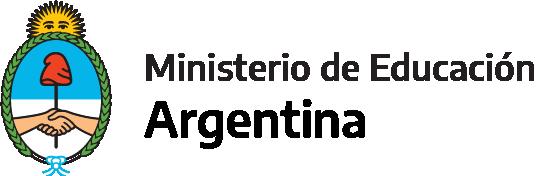 Logotipo de Ministerio de Educación Argentina